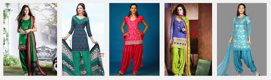 Short-hip Salwar Kameez