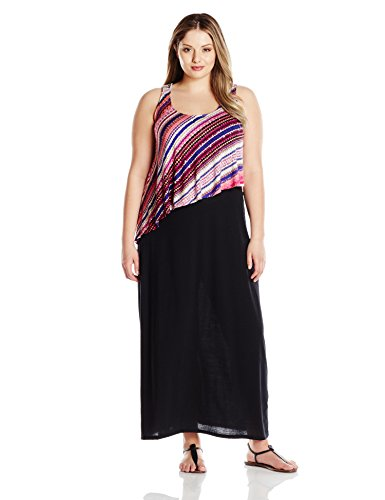 Allison Brittney Women\'s Plus-Size Scoop-Neck Tank Dress with ...