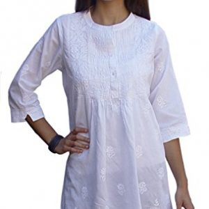 Ayurvastram-Womens-Cotton-Hand-Embroidered-Tunic-Top-Kurti-Blouse-0