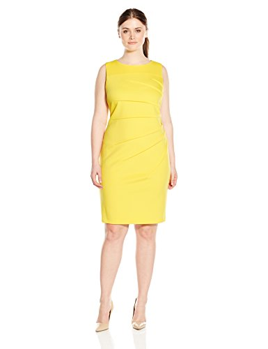Calvin Klein Women\'s Plus-Size Sheath Dress