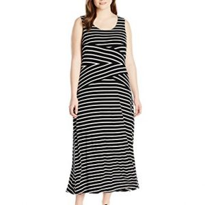 Calvin-Klein-Womens-Plus-Size-Stripe-Maxi-Dress-0