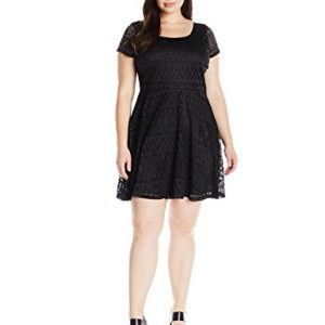 Derek-Heart-Juniors-Plus-Size-Hazels-Pointelle-Lace-Fit-and-Flare-Dress-0