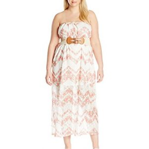 Derek-Heart-Juniors-Plus-Size-Lillys-Aop-Lace-Illusion-Maxi-Tube-Dress-0