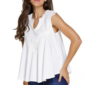Dokotoo-Womens-Overlay-Casual-Embroidered-Applique-Sleeveless-V-Neck-Blouse-Top-0