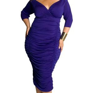 IGIGI-Womens-Plus-Size-Ambrosia-Dress-in-Royal-0