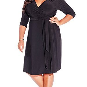 IGIGI-Womens-Plus-Size-Dominique-Dress-in-Black-0