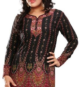 Indian-Tunic-Top-Womens-Kurti-Printed-Blouse-India-Clothing-0