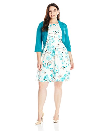 Jessica-Howard-Womens-2-Piece-Plus-Size-Floral-Fit-and-Flare-0