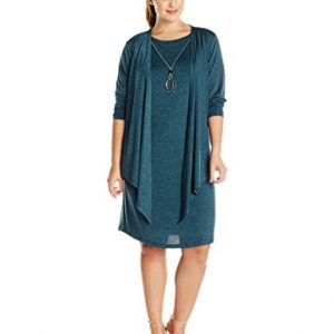 Jessica-Howard-Womens-Plus-Size-Draped-Jacket-Necklace-Dress-0