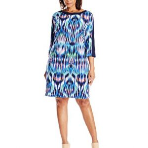 Jessica-Howard-Womens-Plus-Size-Long-Sleeve-Printed-Shift-0