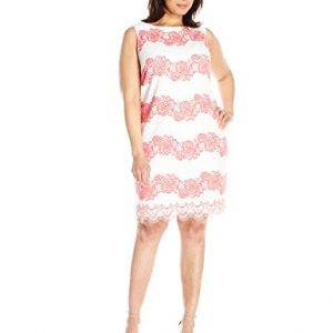 Jessica-Howard-Womens-Plus-Size-Sleeveless-Lace-Shift-0