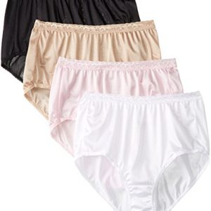 Just-My-Size-Womens-4-Pack-Nylon-Brief-Panty-0