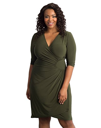 f285f73463b Kiyonna Women s Plus Size Ciara Cinch Dress