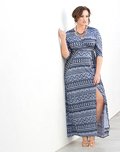 Kiyonna-Womens-Plus-Size-Moroccan-Maxi-Wrap-Dress-0-1 ...
