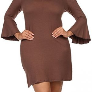 Modern-Kiwi-Love-Ruffle-Off-The-Shoulder-Plus-Size-T-Shirt-Dress-0