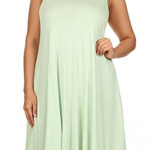 Modern-Kiwi-Solid-Basic-Asymmetric-Plus-Size-Tank-Tunic-Dress-0