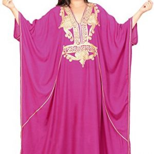 Moroccan-Caftan-Women-Plus-size-Hand-Made-Caftan-with-Embroidery-XXL-to-4XL-0
