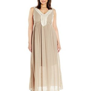 NY-Collection-Womens-Plus-Size-Solid-Sleeveless-Maxi-Dress-with-Crochet-At-Neck-0
