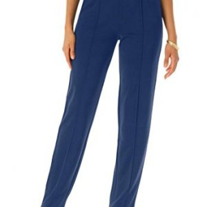 Roamans-Womens-Plus-Size-Creased-Front-Knit-Pants-0