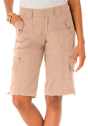 Roamans Women's Plus Size Bermuda Shorts