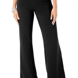 Womens-Plus-Size-Ponte-Bootcut-Knit-Pants-0
