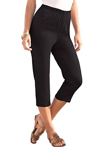 Women's Plus Size Stretch Capris