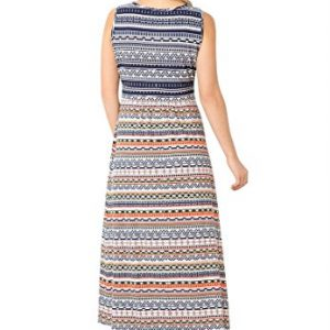 Womens-Plus-Size-Stretch-Knit-Surplice-Dress-In-Prints-Solids-0