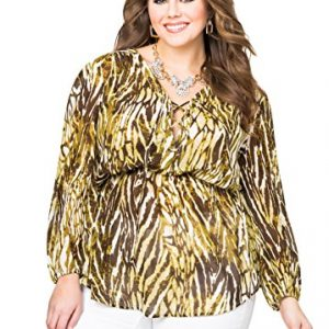 Ashley-Stewart-Womens-Plus-Size-Sheer-Animal-Print-Tunic-0
