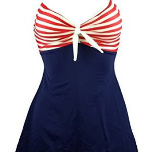 Cocoship-Vintage-Sailor-Pin-Up-Swimsuit-One-Piece-Skirtini-Cover-Up-SwimdressFBA-0