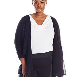 DKNYC-Womens-Plus-size-Sheer-Pieced-Covering-0