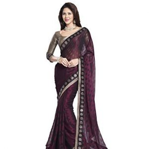 DivyaEmporio-Womens-SareeSari-With-Unstitched-Blouse-0