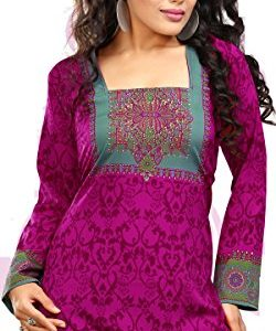 Indian-Tunic-Top-Womens-Kurti-Printed-Blouse-India-Clothing-70-Designs-0