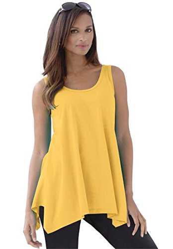 Jessica-London-Womens-Plus-Size-Tunic-Top-With-Sharktail-0