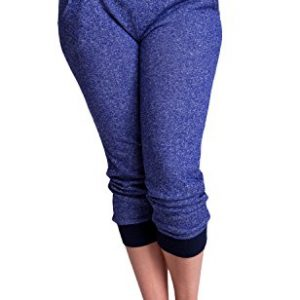 Ladies-Plus-Size-Banded-Waist-Knit-Drawstring-Sweatpants-Multiple-Colors-Available-0