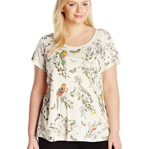 Lucky-Brand-Womens-Plus-Size-Crazy-Parrot-T-Shirt-0