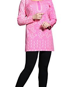 Maple-Clothing-Kurti-Top-Tunic-Womens-Printed-Blouse-Indian-Clothes-0