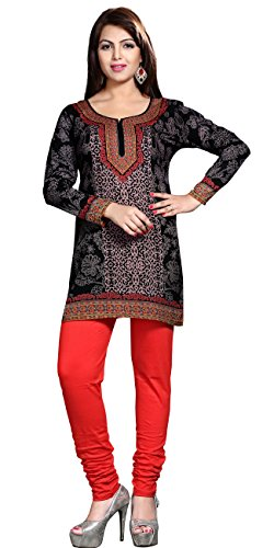 1061ea870d4e5 Maple Clothing Short Kurti Printed Tunic Top Womens Blouse Indian Clothes