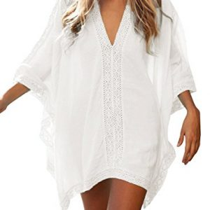 POSESHE-Womens-Solid-Oversized-Beach-Cover-Up-0