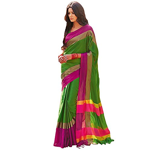 Shree designer sarees women s worldly green art silk