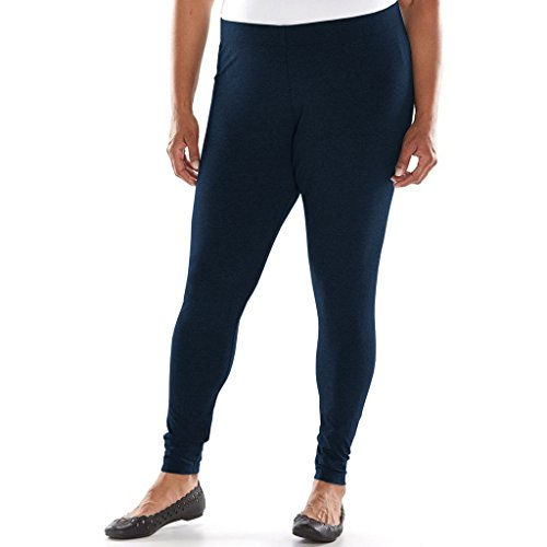 Navy Leggings Plus Size