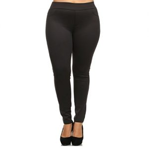 Womens-Plus-Size-Pull-On-Leggings-1X2X-and-3X4X-0