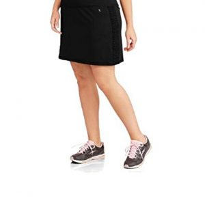 Womens-Plus-size-Performance-Drawstring-Skort-w-Ruched-Siding-Activewear-0