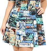 Karen-Kane-Plus-Womens-Plus-Size-Collage-Print-Scuba-Dress-0