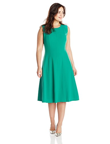 Kasper-Womens-Plus-Size-Sleeveless-Stretch-Dress-0
