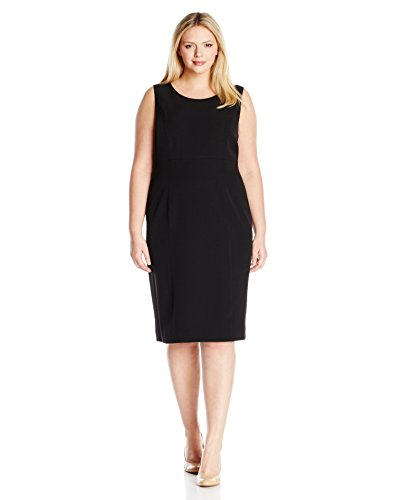 Kasper-Womens-Plus-Size-Stretch-Crepe-Dress-0