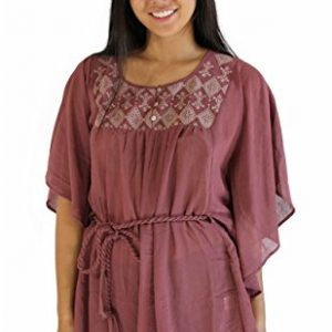 Top-Flowing-Mauve-Tunic-with-Rope-Belt-0